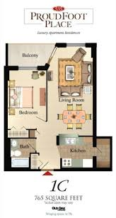 Floor Plan Of An Apartment Apartments In London Ontario 535 Proudfoot Place Luxury Apartments