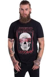 Avenged Sevenfold Flag Avenged Sevenfold Goddamn T Shirt Official Metal Merchandise