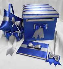 royal blue and silver wedding royal blue silver wedding ring pillow flower girl basket guest