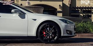 tesla model s niche essen m147 wheels matte black