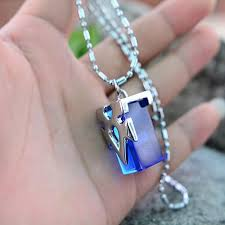 beautiful necklace online images Free sword art online crystal necklace with chain box anime jpg