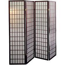 Panel Shoji Screen Room Divider - 4 panel shoji screen