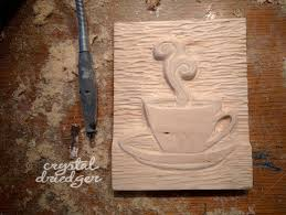 Wood Carving For Beginners by Tea U0026 Coffee Lovers Relief Carving Tutorial Using A Dremel