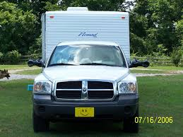 2005 dodge dakota not able to tow a trailer well within the tow