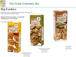 gourmet cookies wholesale gourmet 2380 grant avenue san lorenzo ca fax