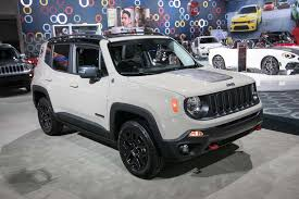 gray jeep renegade new 2017 jeep renegade deserthawk to debut at l a auto show