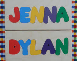 Personalized Name Name Puzzle