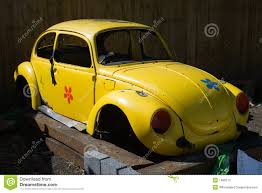 yellow volkswagen beetle royalty free vw beetle shell stock image image of yellow blocks door 1486713