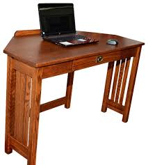 mission oak corner computer desk solid oak corner computer desk mission solid oak corner computer