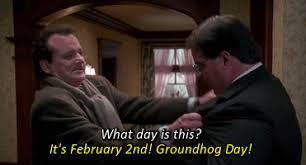 Bill Murray Groundhog Day Meme - stuff bill murray groundhog day february 2nd carmelasky