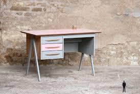 bureau vintage enfant bureau vintage 3 tiroirs et gris pieds compas house