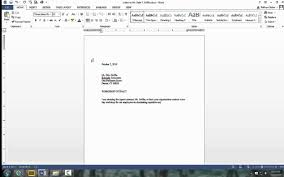 Letter In Block Format by Business Letter In Simplified Style Youtube