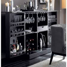 Trunk Bar Cabinet Nspired By A Vintage Steamer Trunk Our Updated Bar Cabinet Opens