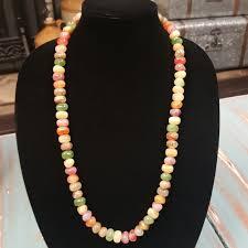 multi colored stones necklace images Vintage jewelry multi colored stone beads necklace poshmark jpg