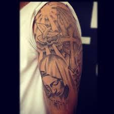 31 best christian tattoos on half sleeve