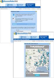 Resume Maer Job Search Tools U0026 Job Feeder Gadget Resumemaker Com