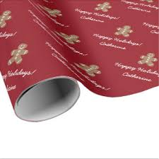 personalized gift wrapping paper wrapping paper zazzle