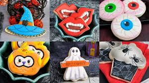 amazing halloween cookies vampire witch ghost spiders owls by