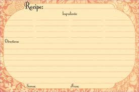7 recipe card template weeklyplanner website
