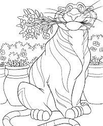 aladdin rajah big coloring pages for kids b2r printable aladin