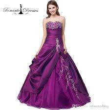 ball gown quinceanera dresses taffeta draped sweetheart embroidery