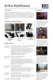 brand ambassador resume samples visualcv resume samples database