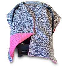 Car Seat Canopy Free Shipping by Herringbone Car Seat Canopy With Peekaboo Opening Free Shipping