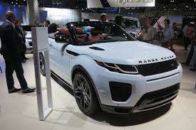 toyota land rover 2017 2017 range rover evoque convertible video first look autoguide