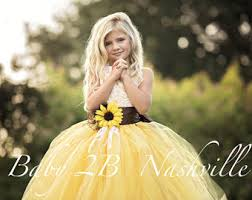 yellow wedding dress yellow sunflower dress yellow dress lace dress tulle dress