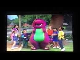 Opening Closing To Barney U0026 by Opening To Barney U0026 Friends Doctor Barney Is Here 1992 Vhs Youtube
