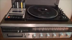 Jcpenney Clocks 1977 Jcpenney 4 Mode Stereo System Youtube