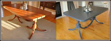 Paint Dining Room Table Painting A Dining Room Table
