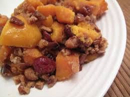 roasted sweet potatoes with cranberries and pecans health for