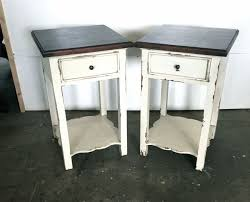distressed wood end table the most new distressed white end tables with regard to residence