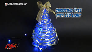 how to make tree with led lights diy