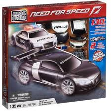 lego audi r8 mega bloks need for speed audi r8 pursuit pack birthday