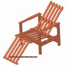 Free Wood Outdoor Chair Plans by Adjustable Wooden Chair Plan