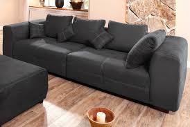 big sofa schwarz premium collection by home affaire big sofa schwarz maverick