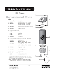nissan titan fuel filter 4120r1210 parker racor fuel filter water separator assembly