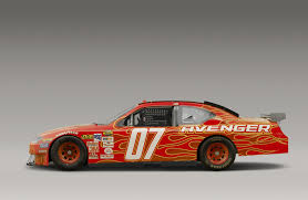 Dodge Challenger Nascar - 2007 dodge avenger nascar pictures history value research news