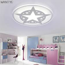Led Bedroom White Round Ceiling - round led ceiling light white modern acrylic ceiling lamp dimmable