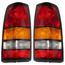 2005 gmc sierra tail lights tail lights for 2005 gmc sierra 3500 ebay