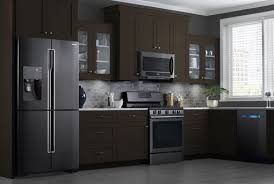 stainless steel kitchen appliances why are black stainless steel appliances so popular