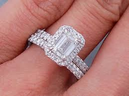 red emerald rings images 1 63 ctw emerald cut diamond wedding ring set g vs2 includes a gif