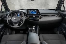 Toyota Highlander Interior Dimensions 2019 Toyota Chr Review Awd Mpg Interior Dimensions