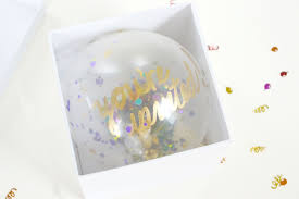 balloons in a box diy confetti balloon invites to pop a party