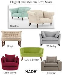 Modern Loveseat Sofa Seats Small Loveseat Sofas Bedroom Chairs