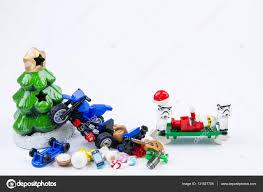 lego stormtrooper taken lego santa claus accident motorcycle crash