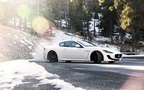 2017 maserati granturismo white maserati granturismo white supercar side view 4k ultra hd