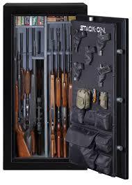 stack on gun cabinet upgrades elite 30 gun safe
